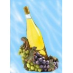 Decorative Resin Grape Wine Bottle Holder