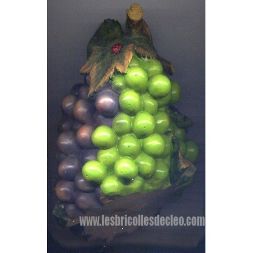 Decorative Resin Grape Wine Bottle Holder Les Bricolles De Cleo
