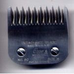 Oster detachable blade size 5 Skip tooth No.80 A5 Clipper