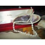 Collier Perles Culture Véritables 17 pouces 5mm