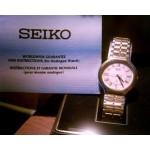 Montre Homme Seiko Analogue Dorée Boîte