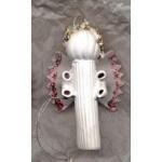 Hanging Ornies White Angels Handmade
