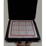 Sudoku Game Glass Cardinal Carrying Black Case