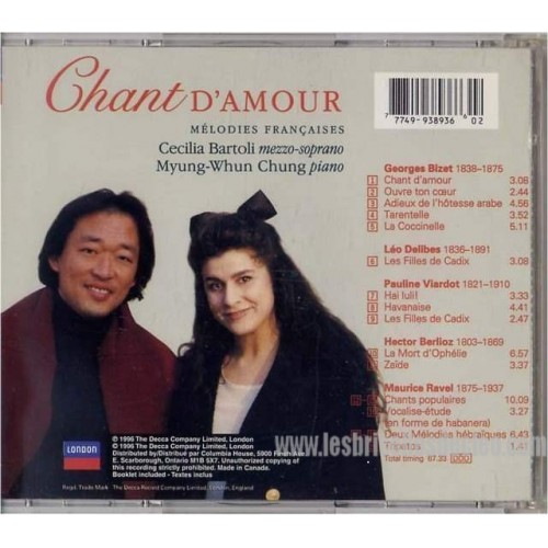 Various Chant DAmour