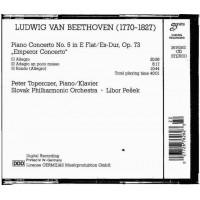 Ludwig Van Beethoven CD Emperor Concerto