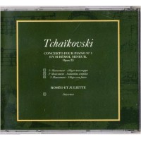 CD Tchaïkovski Concerto pour Piano No 1