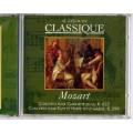 Mozart CD classique Concerto pour clarinette