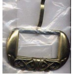 Belt Buckle Gold Brass Medieval Costumes C-55001