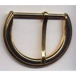 Belt Buckle Gold Finish Brass Medieval Costumes C-55002