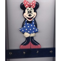 picture-Minnie-Mouse-wall-plaque-key-holder-2