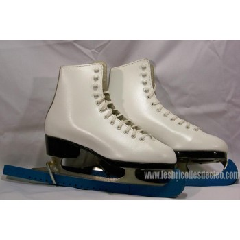 Daoust brand leather ice skates for ladies 7