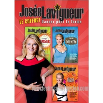 Josée Lavigueur Le Coffret Danser pour la forme dvd