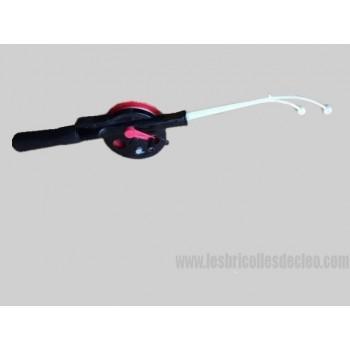 NORMARK Bumerang Ice fishing Rod reel
