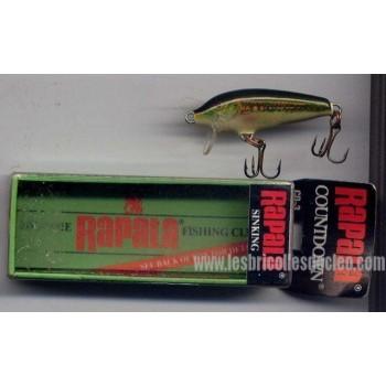 RAPALA Sinking CD-3 MN Minnow Fishing Lure