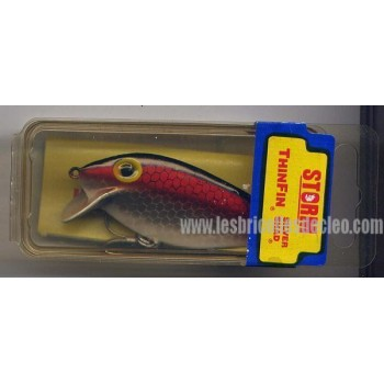 Storm ThinFin Silver Shad T5 Floater Red Scale Lure