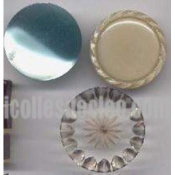 Boutons Bakélite Résine Cellulose Tige 1 pouce