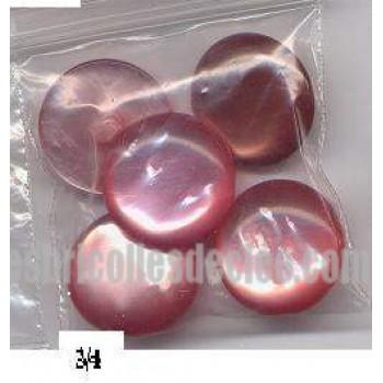29-Buttons Vintage Shank Holes Plastic