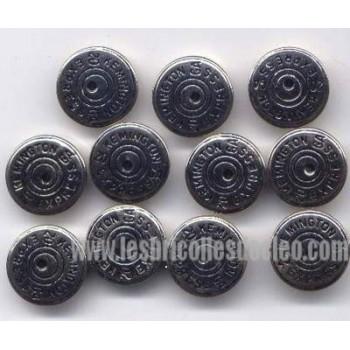 33 Metal Silver Buttons Kemington Express