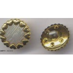 23 Boutons Plastique Lilas Perle Tige B0073