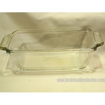Anchor Ovenware Clear 1041 1.5 QT Loaf Bread Pan