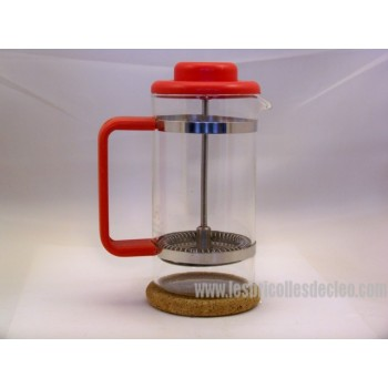 Bodum French Press coffee maker red cork base