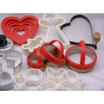 Cookie Biscuit Cutter Collection Valentine Christmas