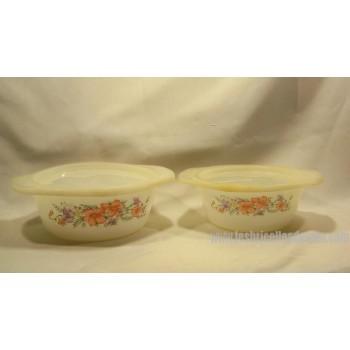 Indopal Verre de lait (milkglass) ensemble de 2