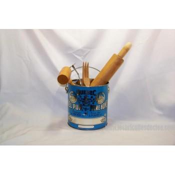 Vintage Honey tin can Kitchenware