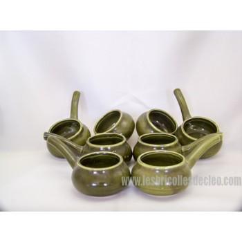 Minis casseroles ramequins individuels porcelaine