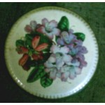 Boîte Métal Ronde Verte Bonbons Stockage