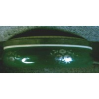 Tin Round Green Keepsake Storage Candy