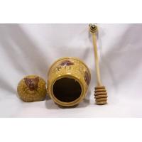 picture-vintage-ceramic-honey-pot-bees-2