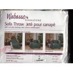 Wabasso Signature Jeté pour Canapé envers antidérapant