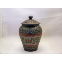 picture-black-round-floral-wooden-trinket-box-2