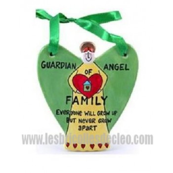 Guardian Angel Plaque Our Name is Mud Family