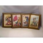 Small wood frames for children's bedroom 4