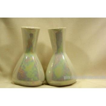 Iridescent Porcelain Bud Vase Bavaria 2