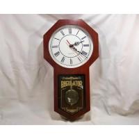 picture-mahogany-wood-wall-clock-2