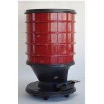 Vermicomposter Ecoworms red 4 sieves