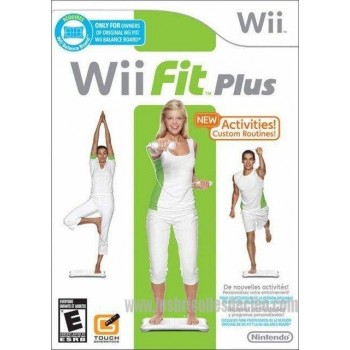 Nintendo game Wii Fit Plus NTSC Case