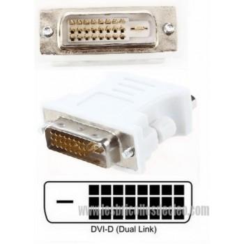 DVI male adapter DVI - D 24 1 to female VGA 15-pin