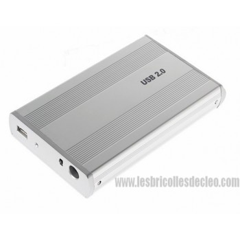 USB External drive HDD w/Quantum Fireball IDE 3.5 10 gb