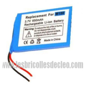 3.7v 6.50 mAh Replacement Battery for Palm