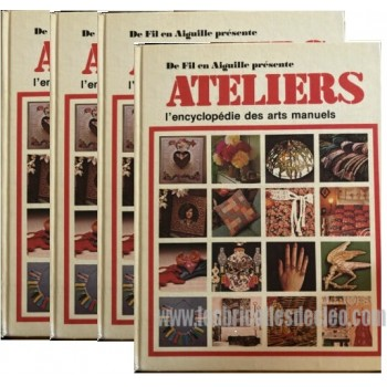Ateliers French Encyclopedia Manual Arts 24 volumes