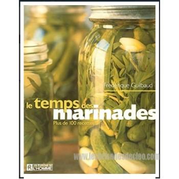 French book Le temps des marinades