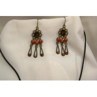 picture-antique-gold-earrings-necklace-set-3