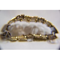 picture-gold-plated-bronze-expandable-bracelet-2