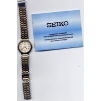 Seiko Analogue Men Wristwatch Box Instructions