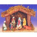 Porcelain Figurines Nativity Scene Christmas