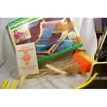 Vintage Fisher Price Weaving Loom 715